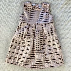 Kardashian Kids Dress Size 4T Shimmer Metallic